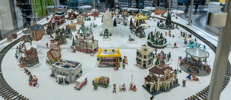 A lost toy train set recovered in a closet was once donated by CSX railroad to Nemours children's clinic in Jax, FL.