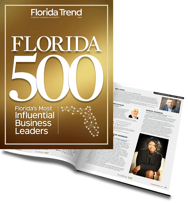 Florida Trend identified RS&H's CEO Dave Sweeney as one of Florida's 500 most influential business leaders.