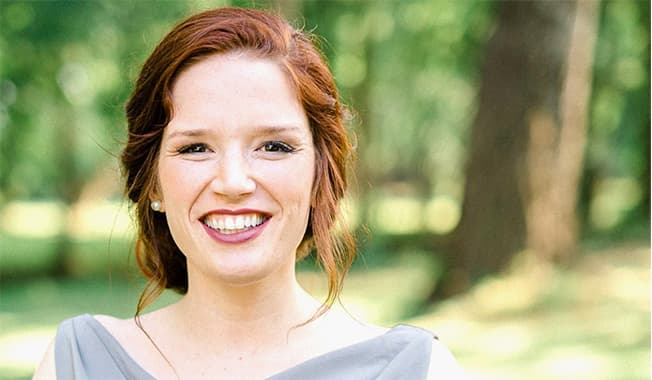 Allie Joiner a San Antonio traffic engineer at RS&H leads with innovative thinking.
