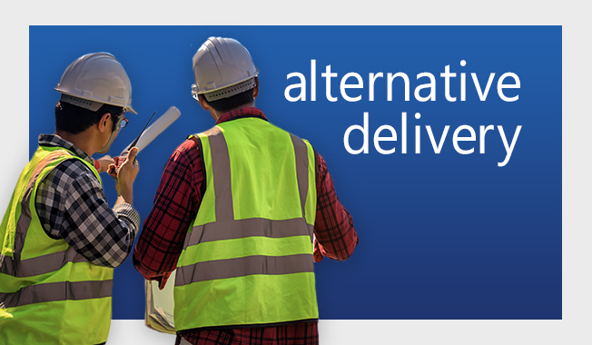 Alternative delivery tips for commercial aerospace companies.