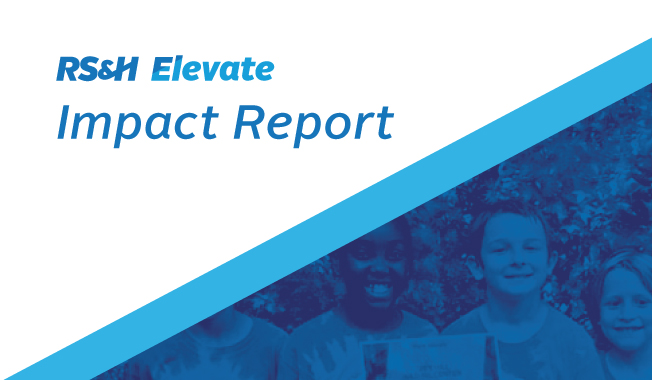 RS&H's Elevate Grant Community Impact Report for 2020.