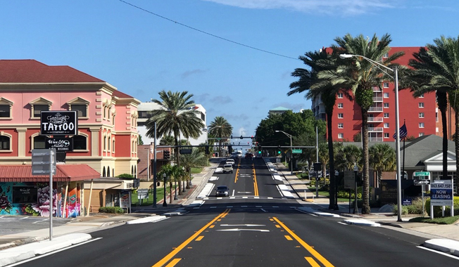 FDOT Complete Streets of the Dixieland Corridor in Lakeland, Florida.