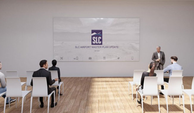 SLC airport and RS&H partnered to deliver a virtual public involvement meeting.