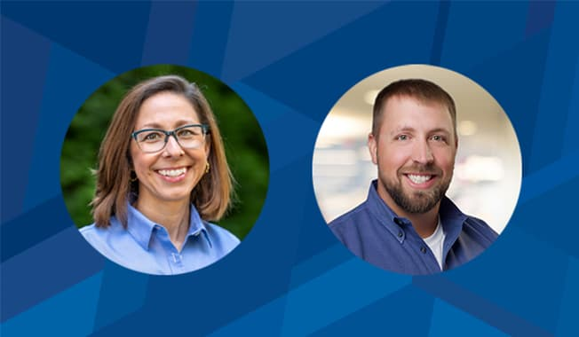 Top Young Professionals Meredith Van Duyn and Adam Mercer recognized by Engineering News-Record (ENR).